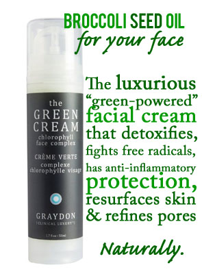 Broccoli Seed Oil Facial Cream