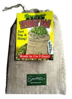 Hemp Sprout Bag for Growing Broccoli Sprouts (Cheap and Easy)